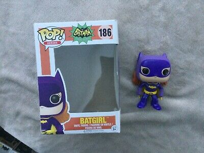 Batman 1966 Classic TV Series Batgirl Funko Pop! Vinyl Figure #186 Oob • 6.95£