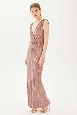Mauve Pleated Grecian Maxi Dress By Oh My LoveFrom Topshop • 6£