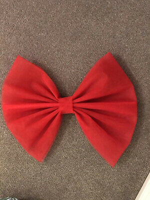 Red Large Door Bow Chair Handmade Decorations Xmas Valentines Party Luxury Event • 8.99£