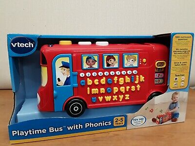 Vtech Playtime Bus With Phonics • 14.99£