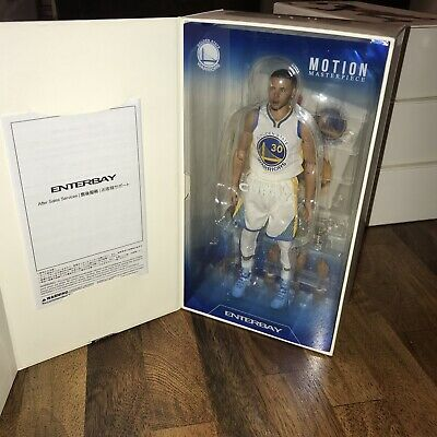 $124.99 • Buy NBA Enterbay Motion Masterpiece Figure Stephen Curry Unused 1/9 Warriors