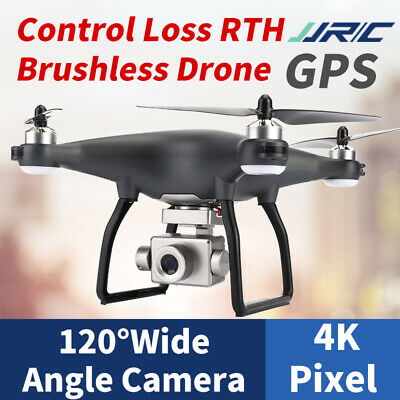 AU299.40 • Buy 2020 Jjrc X13 Adjustable Camera Rc Drone Wifi Fpv Hd 4k Quadcopter Brushless
