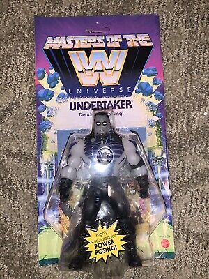 $9.99 • Buy Wwe Wwf Masters Of The Universe Undertaker Scare Glow Retro Rare Motu