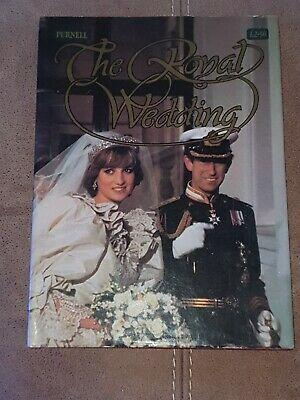 The Royal Wedding Of Charles And Diana Book • 4.99£