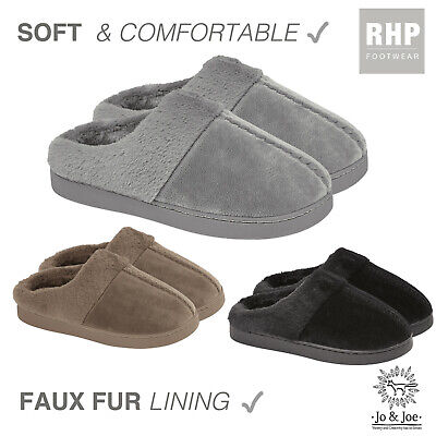 Ladies Mule Slippers Womens Slip On NEW Slippers Sheepskin UK Size 3 4 5 6 7 8 • 9.99£