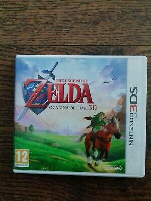 The Legend Of Zelda Ocarina Of Time Nintendo 3ds Complete & Boxed Good Condition • 9.99£