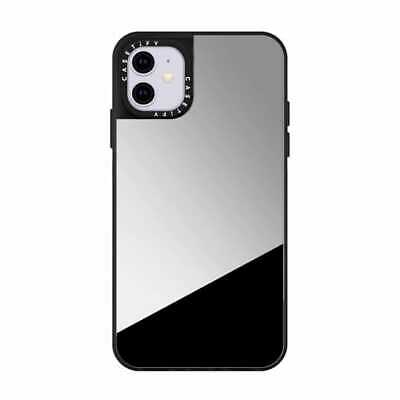 New Luxury Mirror IPhone 12 Pro Max Silver Case, Supports Wireless Charging. • 12.99£