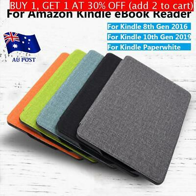 AU14.36 • Buy Ultra Slim Smart Case PU Leather Cover For Kindle 8/10th Gen Paperwhite1/2/3/4
