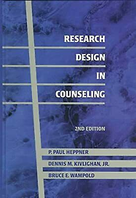 Research Design In Counseling, Heppner, P. P. & Etc., Used; Good Book • 5.10£