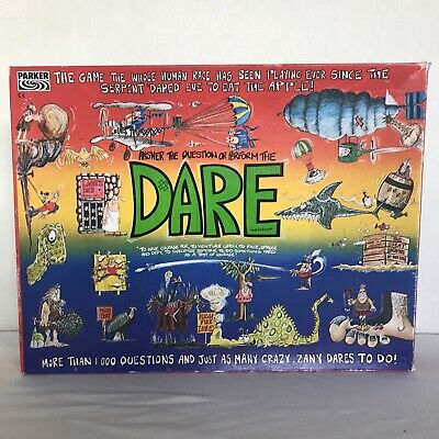 Vintage DARE Board Game By Parker 1992 • 13£