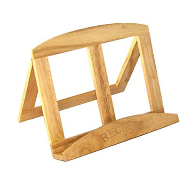 Easel Style Foldaway Wooden Recipe Cook Book Stand • 12.99£