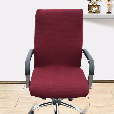 AU31.06 • Buy Washable Universal Office Chair Cover Stripe Jacquard Stretchable Computer Seat