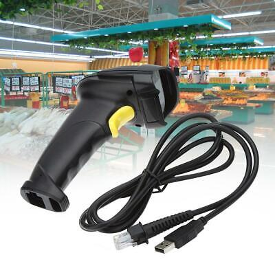 Automatic Barcode Scanner USB Laser Scan BarCode Reader With Handheld Stand GD • 15.96£