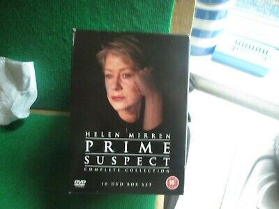Prime Suspect (complete Collection) Helen Mirren 10 Discs • 6.99£