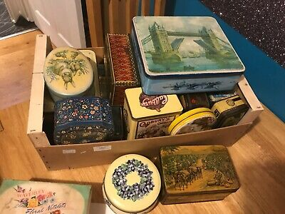 Vintage Tins, Cadbury's , Toffees And Loads More • 8£