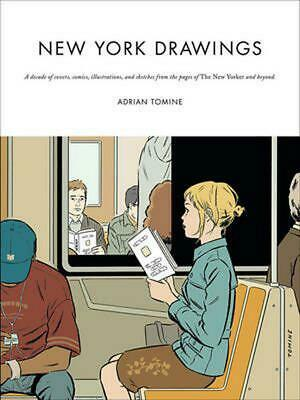 New York Drawings By Adrian Tomine (English) Paperback Book Free Shipping! • 23.99£