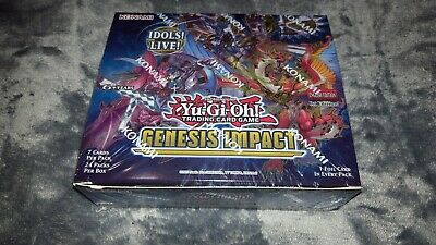 Yu-Gi-Oh! Genesis Impact 1st Edition Booster Box - Factory Sealed • 53£
