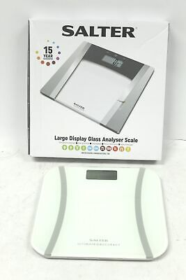 SALTER 9073 Ultimate Accuracy Glass Digital Bathroom Weighing Scales BOXED - T19 • 9.99£