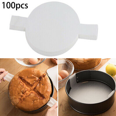 100pcs 8inch Non-Stick Round Parchment Paper Liners For Cake Baking Kitchen Tool • 8.93£
