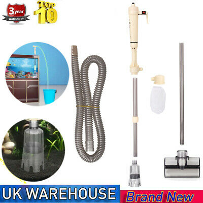 £15.73 • Buy AS-615A Fish Tank Pond Aquarium Vacuum Cleaning Hoover Siphon Pump Water Syphon