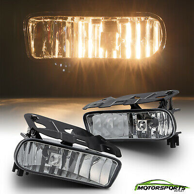 $26.99 • Buy For 2002-2006 Cadillac Escalade Clear Lens Bumper Fog Light Replacement Pair