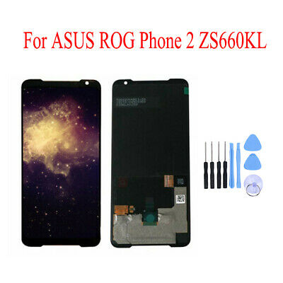 AU204.74 • Buy OEM For ASUS ROG Phone 2 ZS660KL LCD AMOLED DISPLAY+TOUCH SCREEN DIGITIZER BLACK