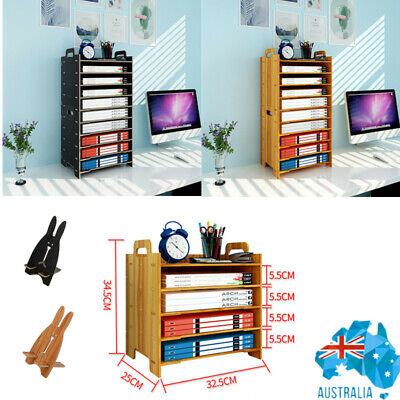 AU26.62 • Buy File Sorter A4 Document Desk Tidy Organizer Storage Stacking Use Holder Office