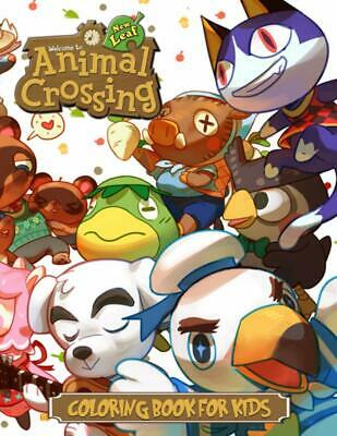 Animal Crossing Coloring Book For Kids By Aki Press  • 6.90£