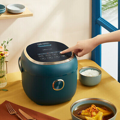 AU126.05 • Buy Bear Multi Function Electric Rice Cooker 3L Capacity Cook For Family 1-5 Person