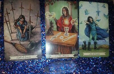 Psychic Tarot Relationship Reading Via Email -same Day! • 8£