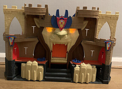Fisher Price Imaginext Playset Fort Castle Battle Ram King Knights Warrior (a) • 20£