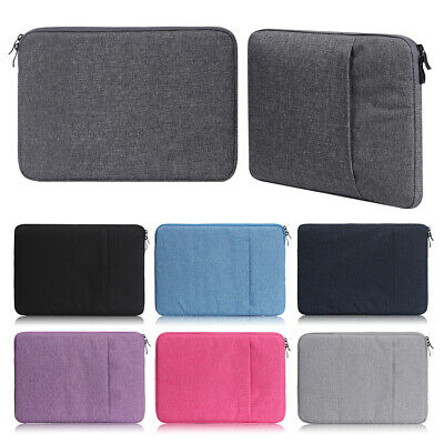 AU16.40 • Buy Waterproof Laptop Sleeve Carry Case Cover Bag For Macbook Lenovo Dell HP AU