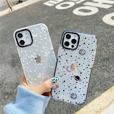 AU7.99 • Buy For IPhone 12 11 Pro Max XS XR 7 8+ Cute Cartoon Star Moon Clear Soft Phone Case