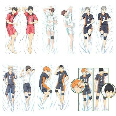 Hot Anime Haikyuu Kuroo Pillow Case Cover Hugging Body Cosplay 34x100cm Uvw • 9.90£