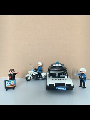 Playmobil Police Bike Car Bundle. • 10.99£