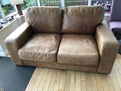 Leather Sofa • 150£