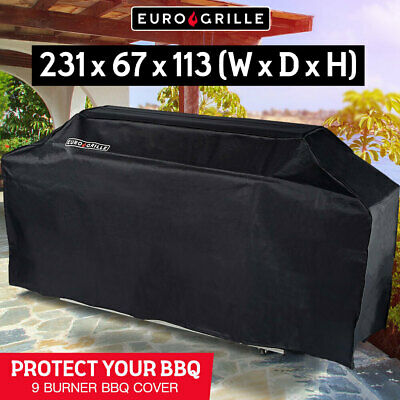 AU97 • Buy Cover For EuroGrille 9 Burner Double Hood BBQ