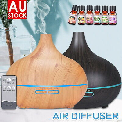 AU24.89 • Buy Ultrasonic Aromatherapy Diffuser LED Essential Oil Aroma Air Humidifier Purifier