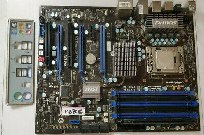 $ CDN155.99 • Buy MSI MS7522 GAMING MOTHERBOARD LGA1366,Intel Core I7 920 2.66GHz CPU 4GB RAM#MBBC