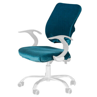 AU19.42 • Buy Stretch Universal Office Chair Cover Split Slipcovers Washable Computer Seat