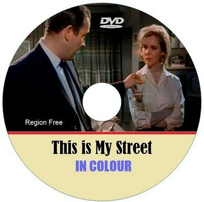 THIS IS MY STREET. Ian Hendry, In Colour DVD. • 4.99£