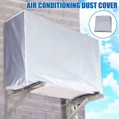 AU12.51 • Buy Outdoor Air Conditioner Cover Protector Anti-Dust Anti-Snow Waterproof Sunproof