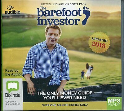 AU22 • Buy Barefoot Investor The Only Money Guide You'll Ever Need Mp3 Ready CD NEW 2018