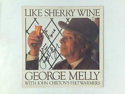£7.34 • Buy Like Sherry Wine LP Signed (George Melly - 1981) N140 (ID:16074)