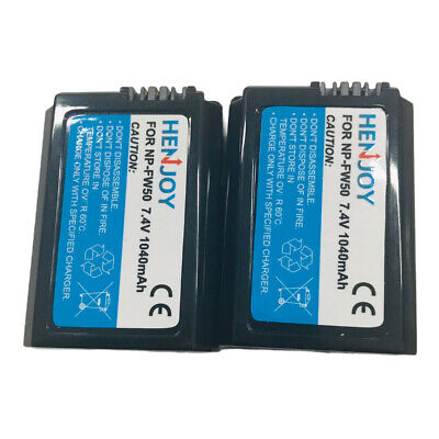 UK Battery NP-FW50 For Sony DLSR A55, SLT-A35B, Alpha 33 7.4V  • 13.99£