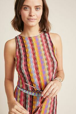 $ CDN63.67 • Buy ANTHROPOLOGIE NWT $140 Aldomartins Marbella Striped Knit Tank Top Size Large