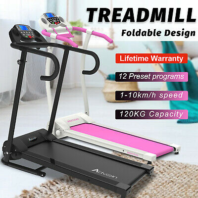 AU359.90 • Buy Electric Treadmill Running Exercise Equipment Incline Home Gym Fitness Machine