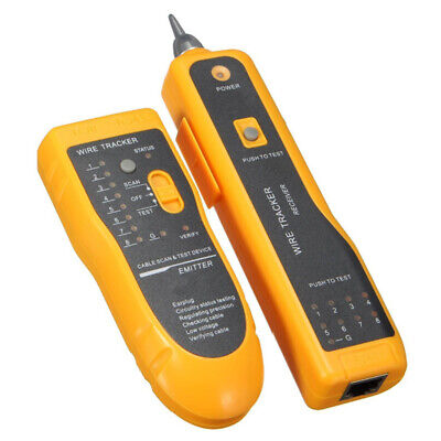 LAN Network Cable Tester Detector Line Finder Telephone Wire Tracker Tracer Kit • 17.19£
