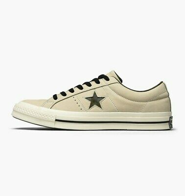 £39.99 • Buy Converse Mens One Star Ox Egret Camouflage Logo Nubuck Leather Sneaker Trainers