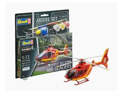EC 135 Air-Glaciers Helicopter 1:72 Model Kit 64986 / 04986 REVELL Ages 10 + • 12.99£